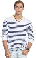 Polo Ralph Lauren Striped Jersey Shirt - Lyst