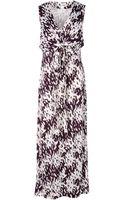 Diane Von Furstenberg Long Dress - Lyst