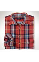 Polo Ralph Lauren Plaid Flannel Workshirt - Lyst