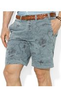 Polo Ralph Lauren Polo Straightfit Maritime Printed Shorts - Lyst