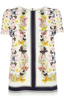 Oasis Butterfly Scarf Placement T-Shirt - Lyst