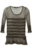 Isabel Marant Open Knit Sweater - Lyst