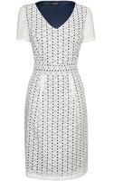 James Lakeland Broderie Dress - Lyst