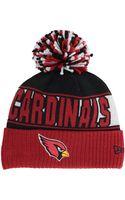 New Era Arizona Cardinals Rep Your Team Pom Knit Hat - Lyst