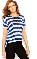 Kensie Striped Top - Lyst