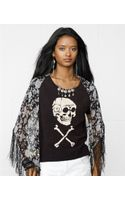 Denim & Supply Ralph Lauren Shortsleeve Skullgraphic Tee - Lyst