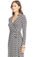 Diane Von Furstenberg New Jeanne Two Silk Jersey Wrap Dress - Lyst