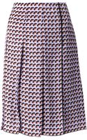 Marc Jacobs Fan Pleated Skirt - Lyst