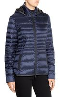 Victorinox Hooded Down Jacket - Lyst