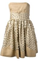 RED Valentino Lace Embellished Dress - Lyst