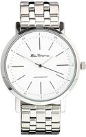 Ben Sherman White Dial Stainless Steel Strap Watch Bs088 - Lyst