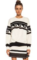 Isabel Marant Samuel Surround Knit Polyamide-blend Pullover - Lyst