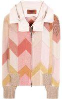 Missoni Hooded Wool Jacket - Lyst