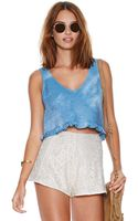 Nasty Gal Head in The Clouds Top - Lyst