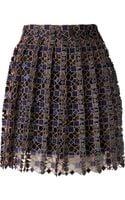 Mary Katrantzou Pleated Skirt - Lyst