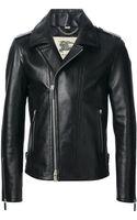 Burberry London Biker Jacket - Lyst