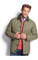 Barbour Grouse Quilted Plaid Jacket - Lyst
