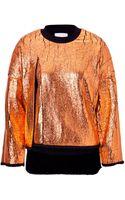3.1 Phillip Lim Metallic Pullover - Lyst