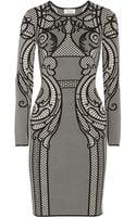 Temperley London Lavinia Intarsia Stretchknit Dress - Lyst