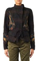 Isabel Marant Greta Checked Linen and Wool Jacket - Lyst