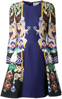 Mary Katrantzou Printed Dress - Lyst