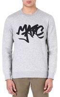 Marc By Marc Jacobs Tag Sweatshirt - Lyst