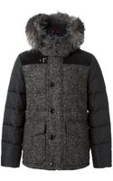 Fay Fur Trimmed Padded Coat - Lyst