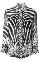Balmain Leopard and Zebra Print Shirt - Lyst