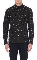 Paul Smith Banana-print Cotton Shirt - Lyst