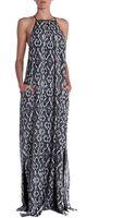 10 Crosby Derek Lam Printed Maxi Dress - Lyst