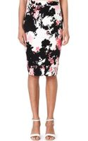 French Connection Fast Belle Garden Stretch-cotton Pencil Skirt - Lyst