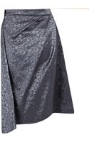 Vivienne Westwood Anglomania Survival Brocade Drape Skirt - Lyst