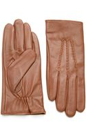 Lauren by Ralph Lauren Leather Gloves - Lyst