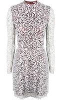Carven Corneli Lace Dress - Lyst