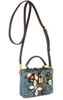 Dolce & Gabbana Miss Dolce Velvet Shoulder Bag - Lyst