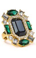 Kate Spade Art Deco Gems Ring - Lyst