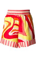 Marco Bologna Patterned Shorts - Lyst