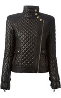 Balmain Quilted Jacket - Lyst