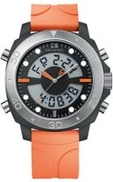 Hugo Boss Mens Orange Stainless Steel and Plastic Watch - Lyst