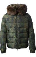 Moncler Byron Camouflage Padded Jacket - Lyst