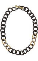 Armenta Twisted Diamond  Green Onyx Small Link Necklace - Lyst