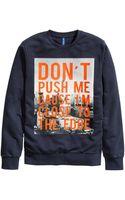H&M Sweatshirt with A Print - Lyst