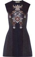 Mary Katrantzou Babel Metallic Stretchknit Dress - Lyst