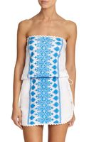 Melissa Odabash Embellished Bandeau Beach Dress - Lyst