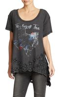 Free People Graphic Stone Tee - Lyst
