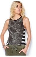 Sanctuary Printed Tank Top - Lyst