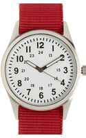 21men Canvas-strap Analog Watch - Lyst