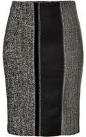 Etro Patchwork Pencil Skirt - Lyst
