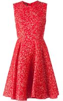Giambattista Valli Embossed Dress - Lyst