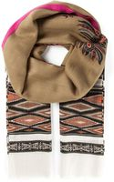 Etro Woven Pattered Scarf - Lyst